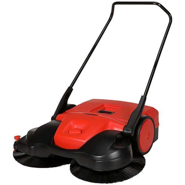 """Bissell Commercial BG-497 38"""" Triple Brush Manual Power Sweeper Main Image 1"""