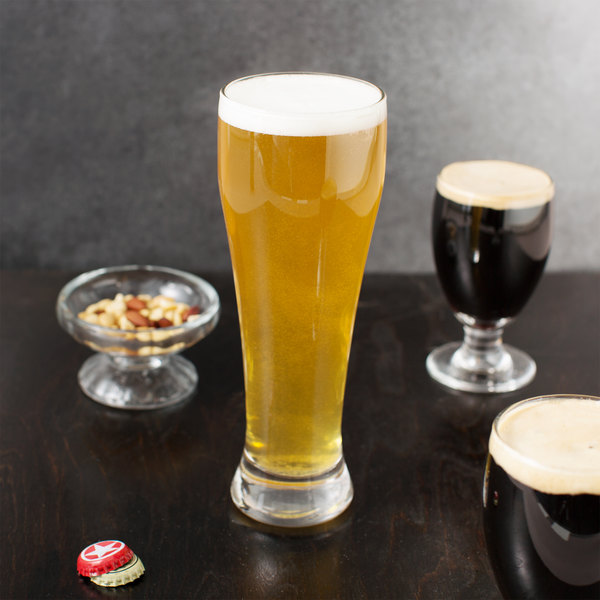 Libbey 1610 23 oz. Customizable Giant Beer Glass - 12/Case