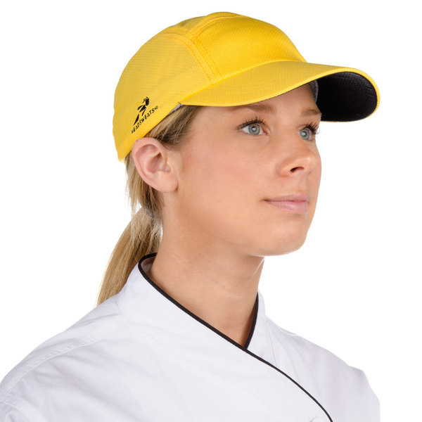 Headsweats 7700-205 Yellow Eventure Fabric Customizable Chef Cap
