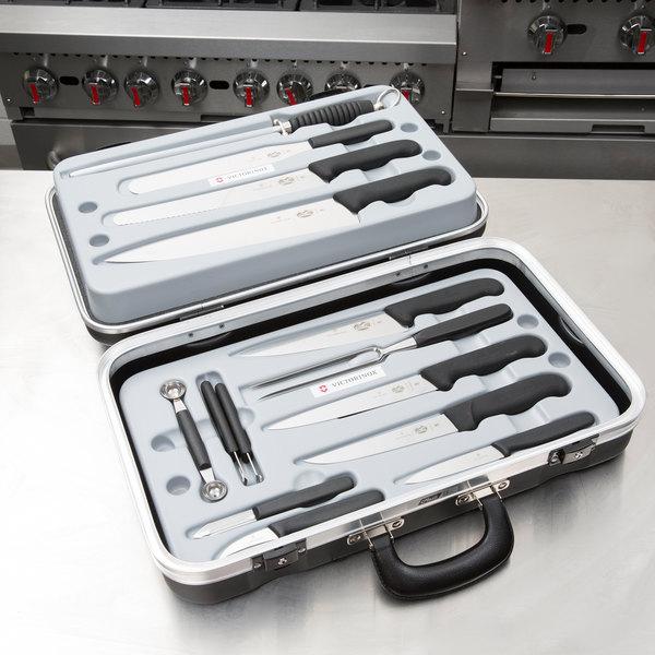 Victorinox 5.4913 14-Piece Fibrox Handle Garnishing Kit Main Image 3