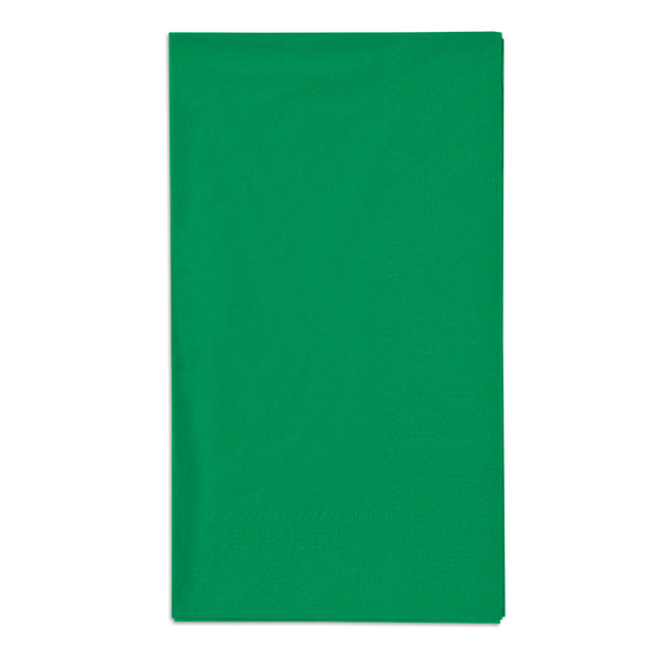 Jade Green Paper Dinner Napkins, 2-Ply, 15 inch x 17 inch - Hoffmaster 180529 - 1000/Case