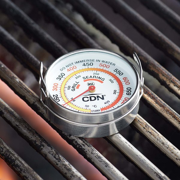 """CDN GTS800X Pro-Accurate 2"""" Dial Grill Thermometer Main Image 4"""