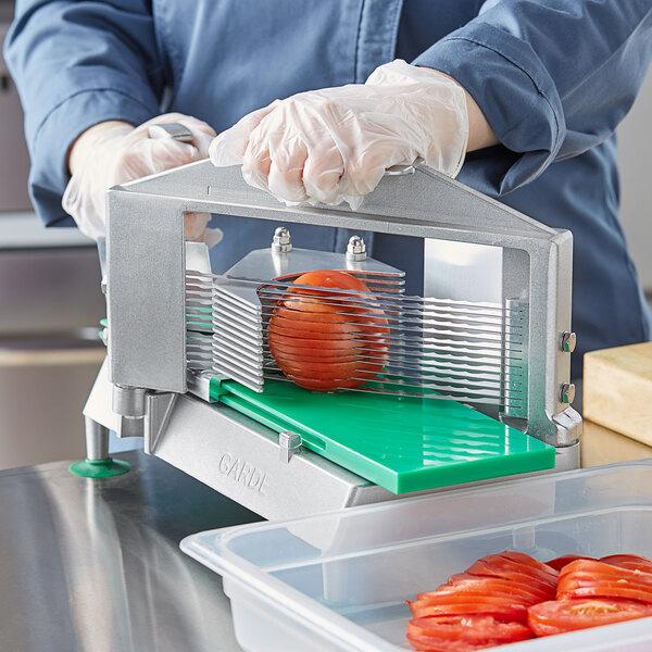 "Garde XL TSXL316 3/16"" Serrated Blade Tomato Slicer Main Image 4"