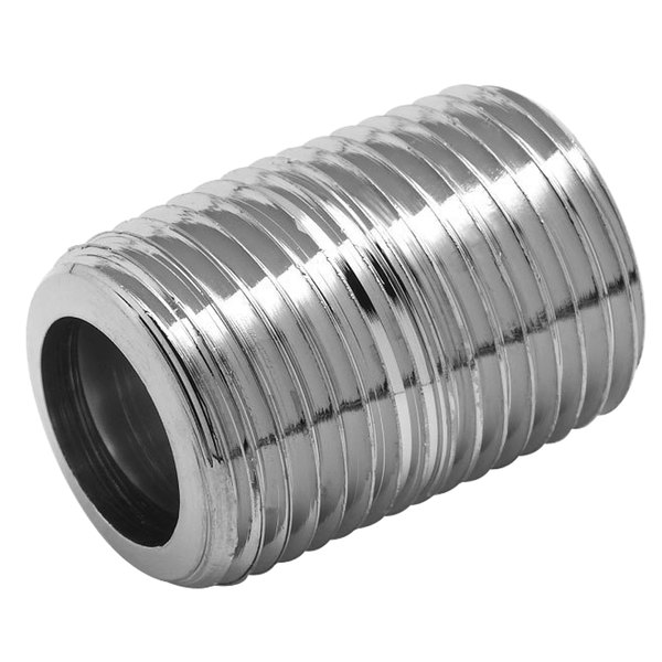 """T&S 002534-25 1"""" Close Nipple with 1/2"""" NPT Male Threads"""
