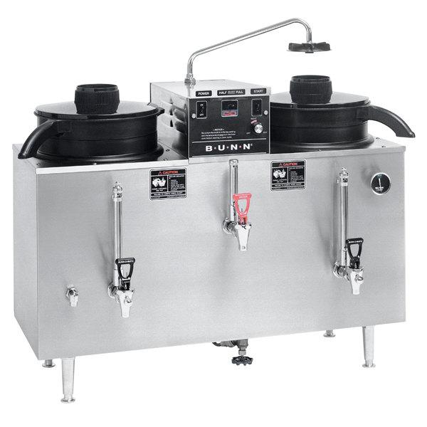 Bunn 20500.0000 U3 Twin 3 Gallon Coffee Machine Urn - 120/208V