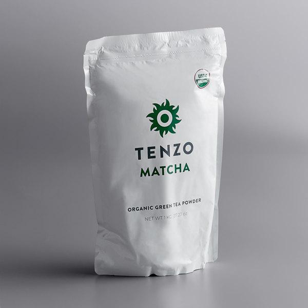 Tenzo 1 Kilogram (2.2 lb.) Organic Ceremonial Matcha Green Tea Powder Main Image 1