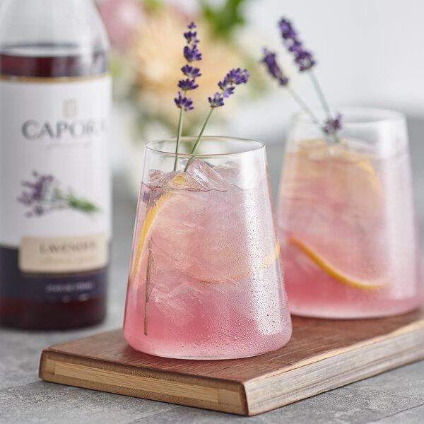 Capora 750 mL Lavender Flavoring Syrup Main Image 2