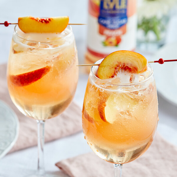 Tate and Lyle 750 mL Peach Flavoring Syrup Main Image 2