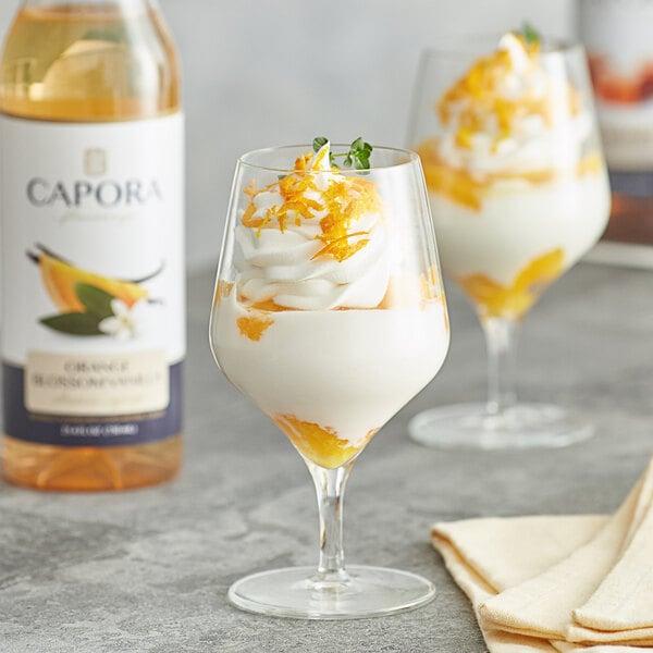 Capora 750 mL Orange Blossom Vanilla Flavoring Syrup Main Image 2