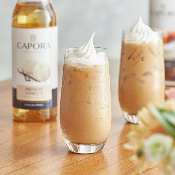 Capora 750 mL French Vanilla Flavoring Syrup Main Image 2