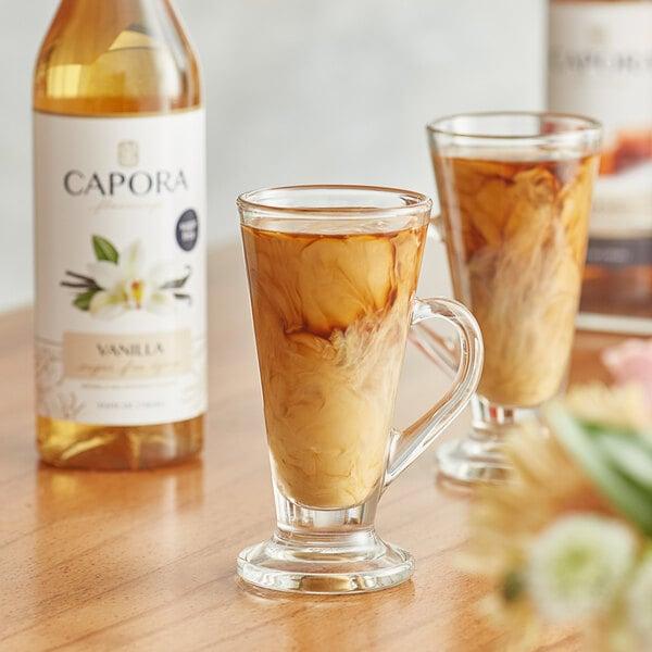 Capora 750 mL Sugar Free Vanilla Flavoring Syrup Main Image 2