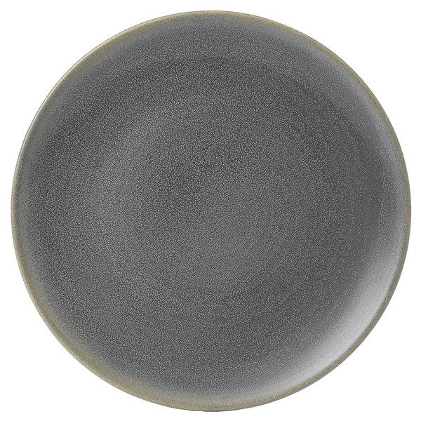 "Dudson EG295 Evo 11 5/8"" Matte Granite Coupe Round Stoneware Plate by Arc Cardinal - 12/Case Main Image 1"