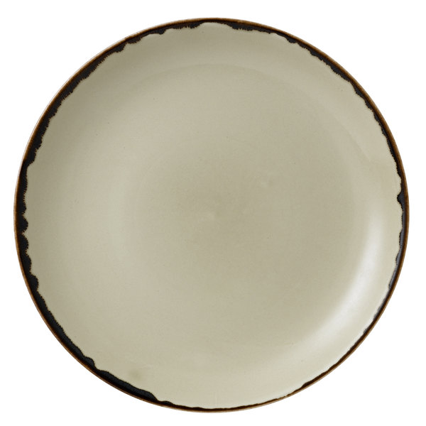 "Dudson HL217 Harvest 8 11/16"" Linen Coupe Round China Plate by Arc Cardinal - 12/Case Main Image 1"
