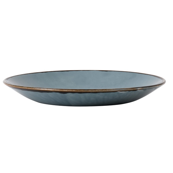 """Dudson HBL25 Harvest 10"""" Blue Deep Coupe Round China Plate by Arc Cardinal - 12/Case Main Image 1"""