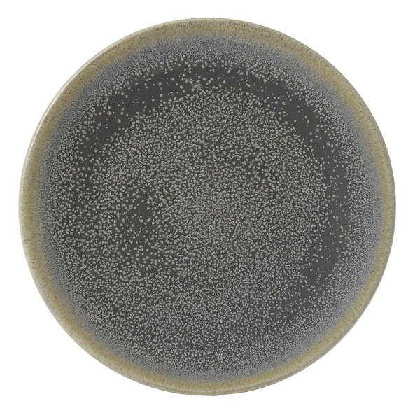 "Dudson EG162 Evo 6 3/8"" Matte Granite Coupe Round Stoneware Plate by Arc Cardinal - 24/Case Main Image 1"