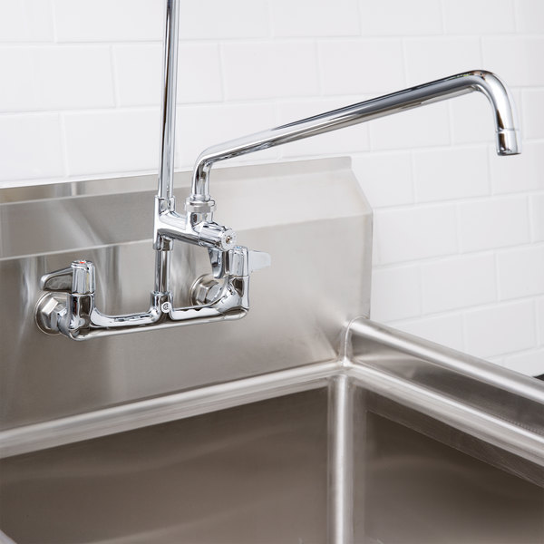"""Equip by T&S 5AFL18 18"""" Add On Faucet for Pre-Rinse Units - ADA Compliant"""