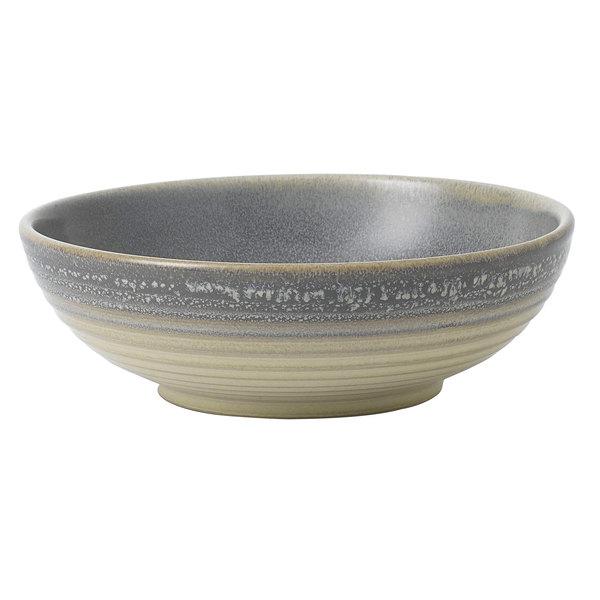 Dudson EG178 Evo 30 oz. Matte Granite Round Stoneware Rice Bowl by Arc Cardinal - 24/Case Main Image 1