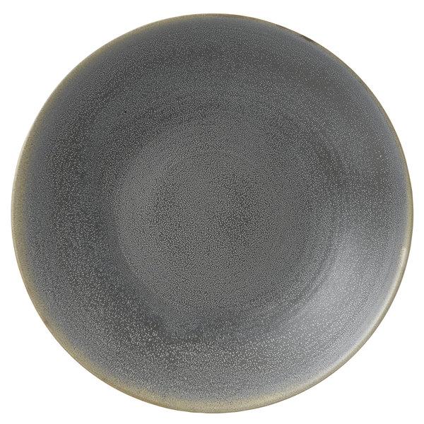 "Dudson EG292 Evo 11 1/2"" Matte Granite Deep Round Stoneware Plate by Arc Cardinal - 8/Case Main Image 1"