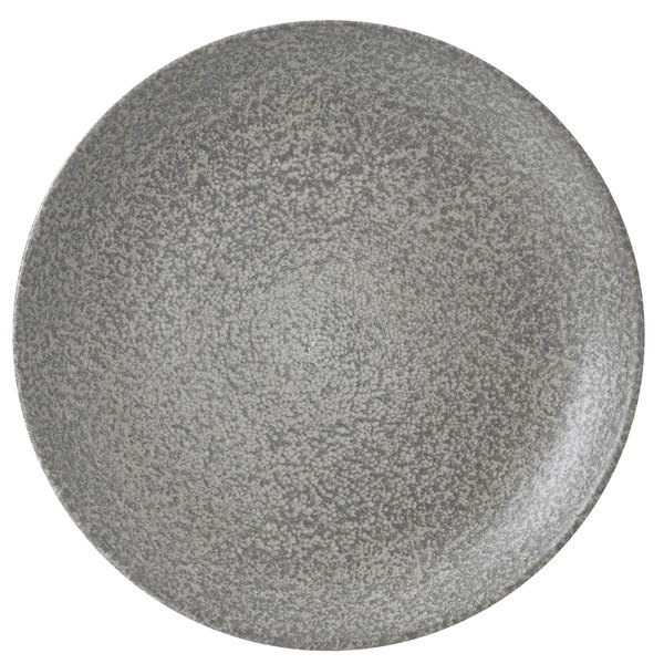 """Dudson EO217 Evo Origins 9"""" Natural Grey Coupe Round China Plate by Arc Cardinal - 12/Case Main Image 1"""