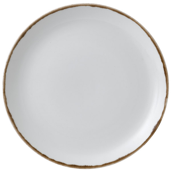 "Dudson HN288 Harvest 11 1/4"" Natural Coupe Round China Plate by Arc Cardinal - 12/Case Main Image 1"