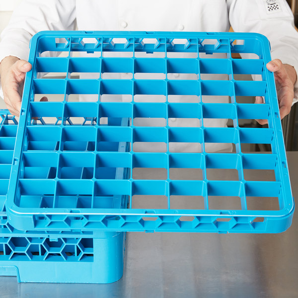 Carlisle RE4914 OptiClean 49 Compartment Glass Rack Extender