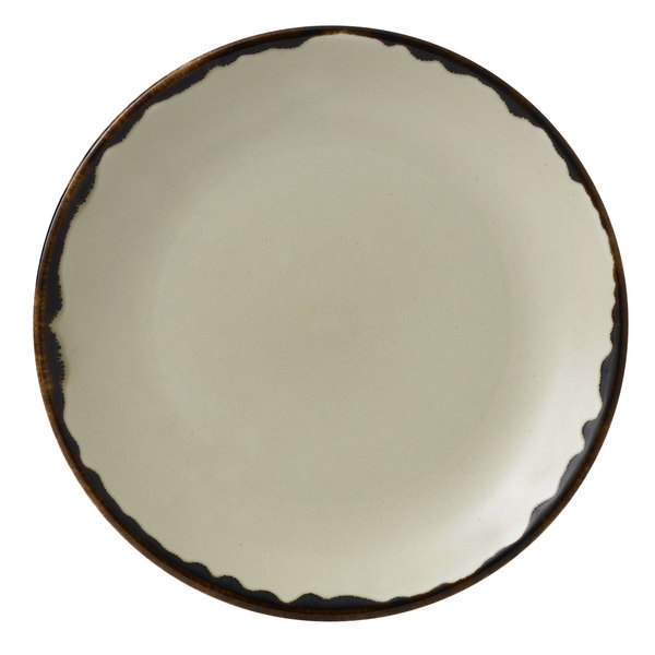 """Dudson HL165 Harvest 6 1/2"""" Linen Coupe Round China Plate by Arc Cardinal - 12/Case Main Image 1"""