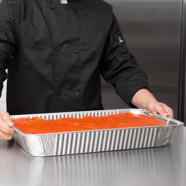 Choice Full Size Foil Deep Steam Table Pan - 50/Case