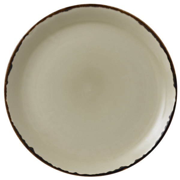 """Dudson HL288 Harvest 11 1/4"""" Linen Coupe Round China Plate by Arc Cardinal - 12/Case Main Image 1"""