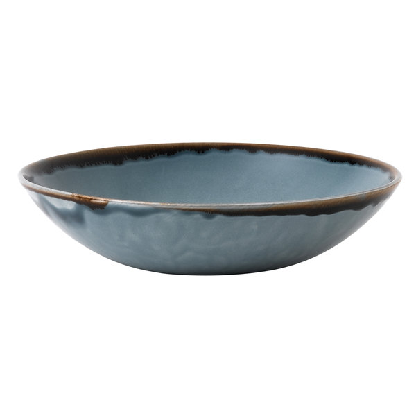 Dudson HBL18 Harvest 15 oz. Blue Coupe Round China Bowl by Arc Cardinal - 12/Case Main Image 1