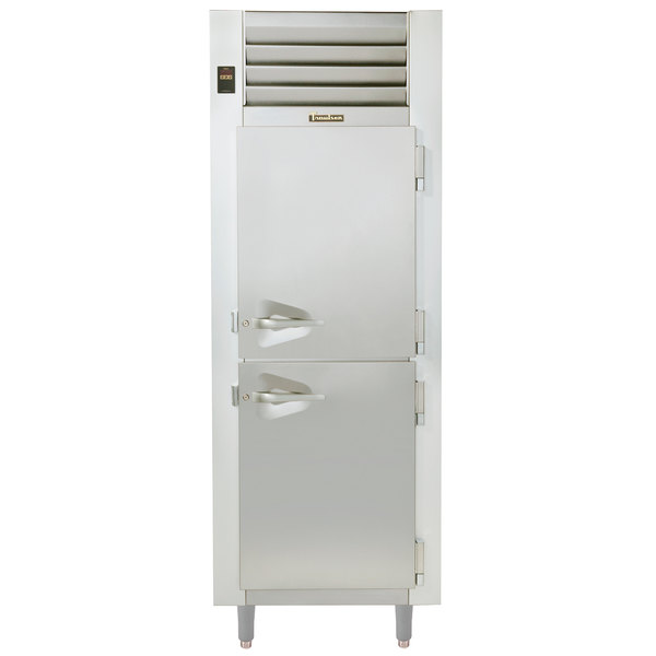 Traulsen RDH132WUT-FHS Stainless Steel Single Section Reach In Holding Cabinet / Refrigerator - Specification Line