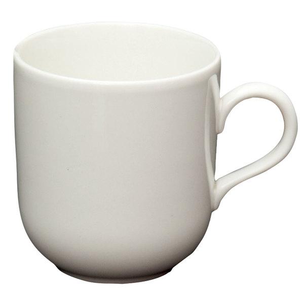 Homer Laughlin 20256800 Ameriwhite Alexa 14 oz. Bright White China Mug - 12/Case