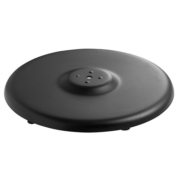 """Lancaster Table & Seating Millennium 18"""" Round Outdoor Table Base Plate Main Image 1"""