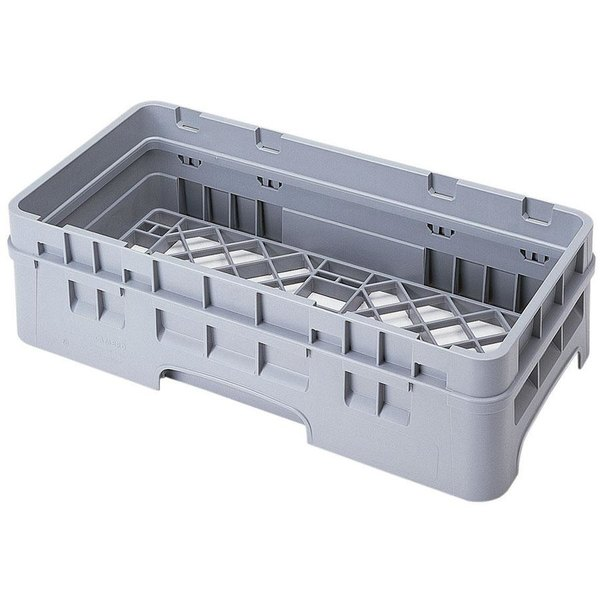 Cambro HBR414151 Soft Gray Camrack Half Size Open Base Rack with 1 Extender