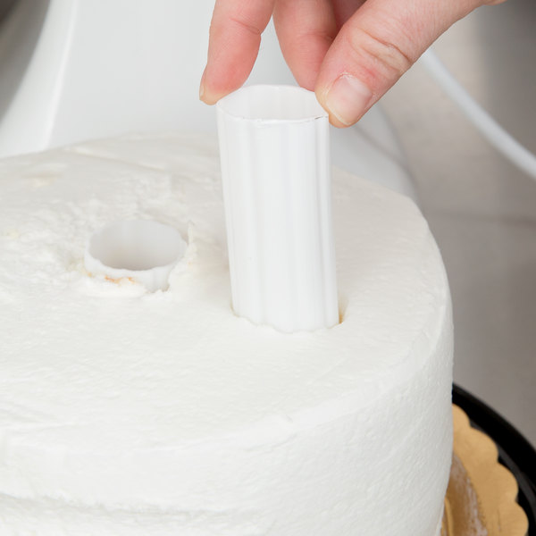 Wilton 303-8 Hidden Cake Pillars - 4/Pack
