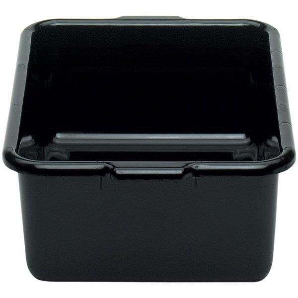 """Cambro 21157CBR110 Regal Cambox 21"""" x 15"""" x 7"""" Black Plastic Bus Box"""