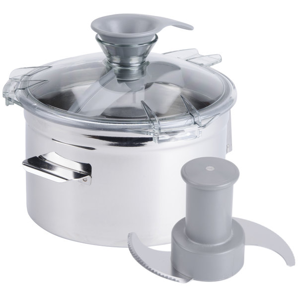 Robot Coupe 27165 5 Qt. Stainless Steel Bowl Assembly Main Image 1
