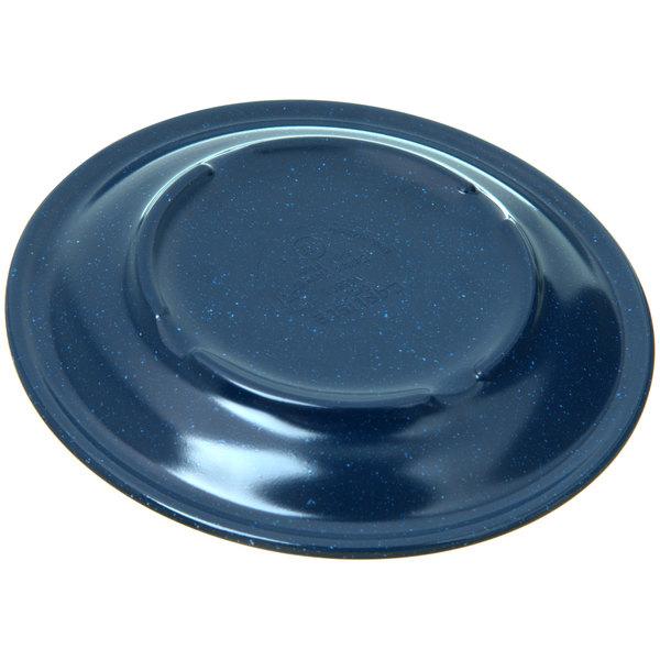 Carlisle 4350535 Dallas Ware 5 5 8 Cafe Blue Melamine Bread And Butter Plate 48 Case