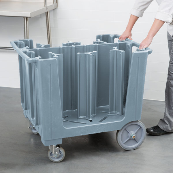 Cambro ADCS401 S Series Adjustable Slate Blue Caddy with Vinyl Cover - 6 Column Main Image 5