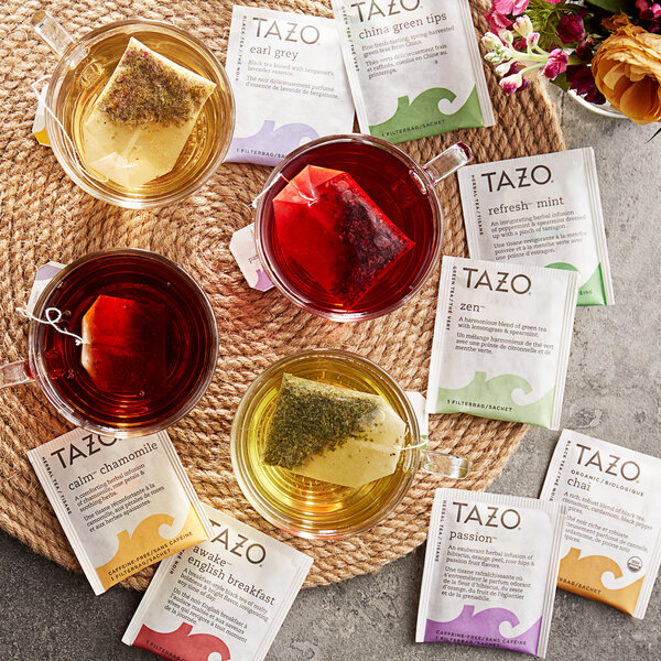 Tazo Assorted Tea Bag Variety Pack - 24/Box Main Image 3