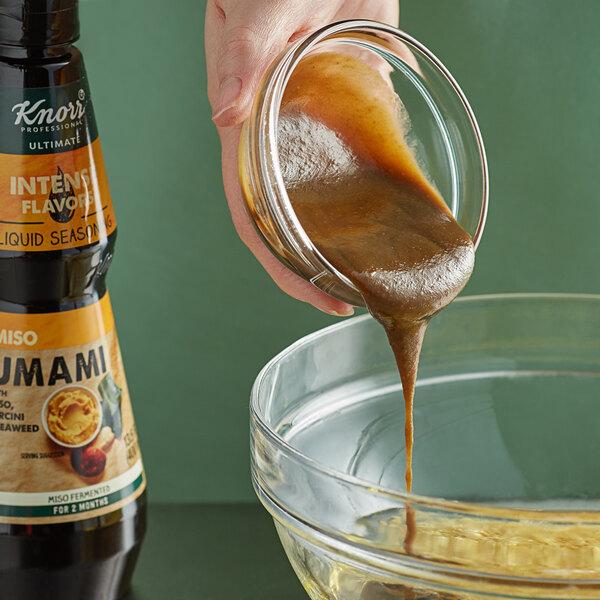 Knorr 13.5 oz. Miso Umami Liquid Seasoning - 4/Case Main Image 2