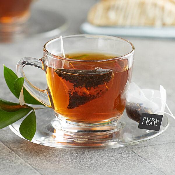 Pure Leaf Earl Grey Pyramid Tea Sachets - 25/Box Main Image 3