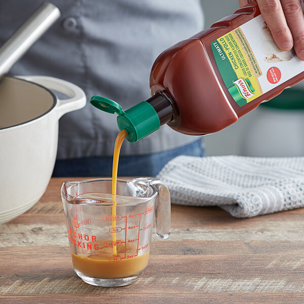 Knorr 32 oz. Ultimate Liquid Concentrated Chicken Base - 4/Case Main Image 2