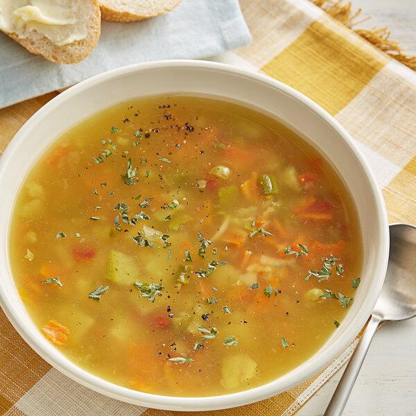Knorr 8.7 oz. Soup du Jour Garden Vegetable Soup Mix - 4/Case Main Image 2