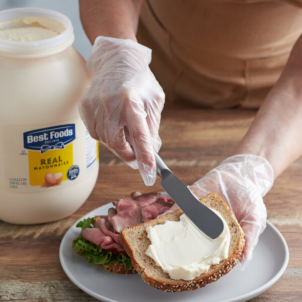 Best Foods 1 Gallon Real Mayonnaise - 4/Case Main Image 2