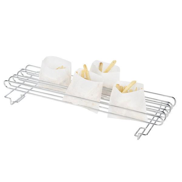 "Tablecraft 4040 French Fry Holder / Taco Rail - Holds (12) 6"" Taco Shells"