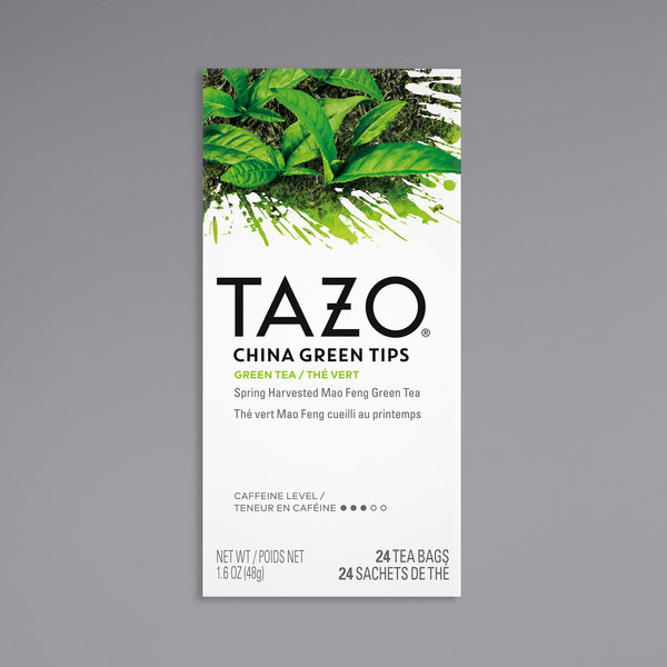 Tazo China Green Tips Tea Bags - 24/Box