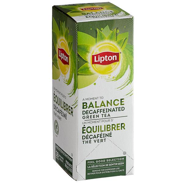 Lipton Decaffeinated Green Tea Bags - 28/Box Main Image 1