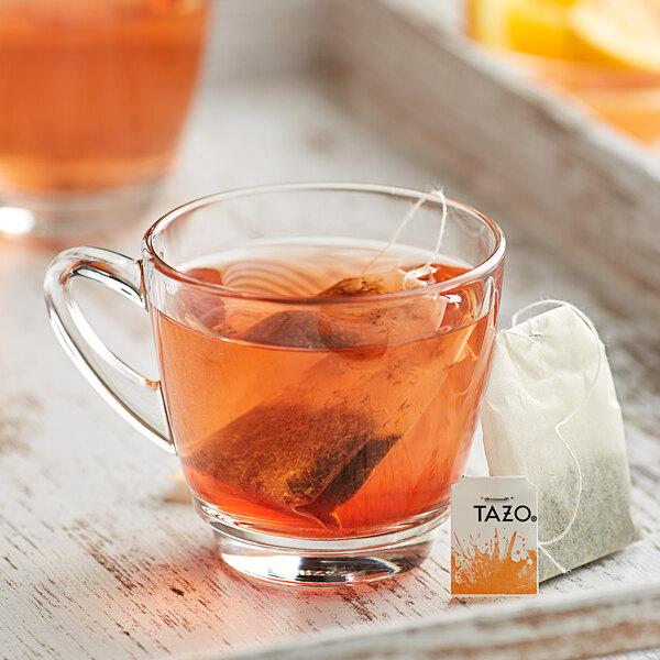 Tazo Wild Sweet Orange Tea Bags - 24/Box Main Image 3