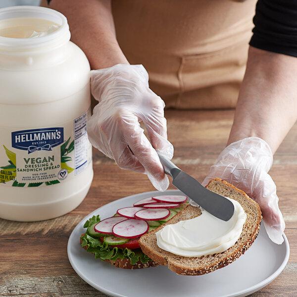 Hellmann's 1 Gallon Vegan Mayonnaise Spread - 4/Case Main Image 2