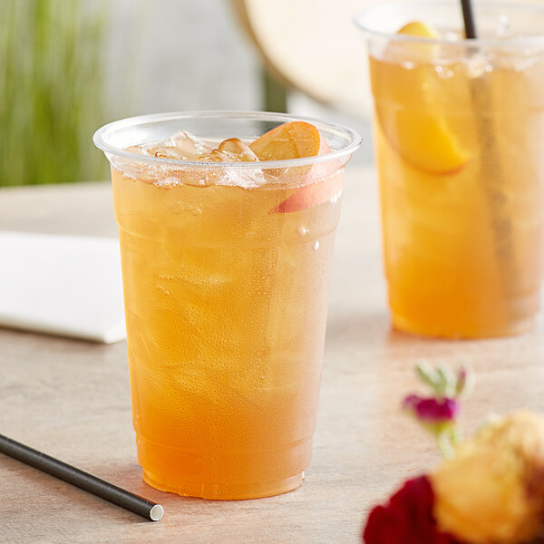 Tazo 32 oz. Peachy Green Iced Tea 1:1 Concentrate Main Image 3